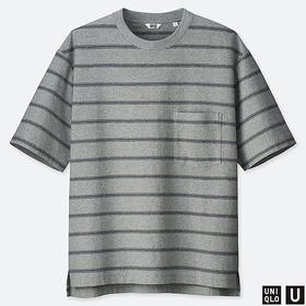 MEN U OVERSIZE CREW NECK SHORT-SLEEVE T-SHIRT