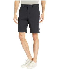 Calvin Klein Contrast Stripe Cotton Twill Shorts
