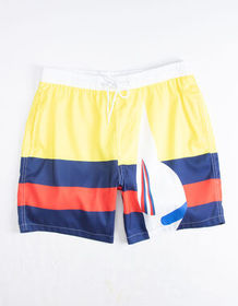 UNCLE RALPH Nautical Stripe Mens Volley Shorts_