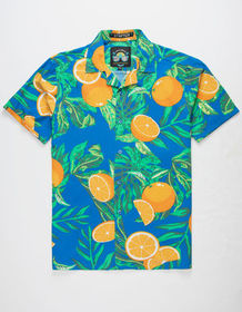 GOOD VIBES Oranges Mens Shirt_