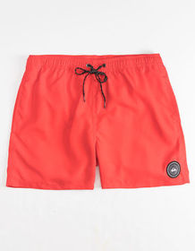 QUIKSILVER Everyday High Risk Red Mens Volley Shor