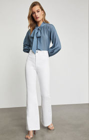 BCBG Stretch Denim Flared Jean