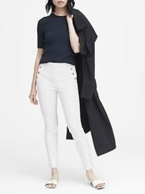 High-Rise Skinny Sailor Pant
