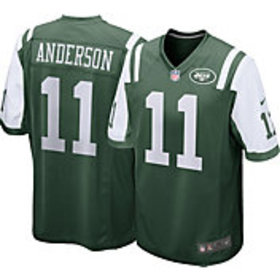 Nike Men's Home Game Jersey New York Jets Robby An