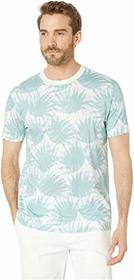 BOSS Hugo Boss All Over Leaf Print T-Shirt