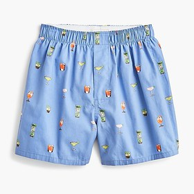 J. Crew Boxers in summer cocktail print