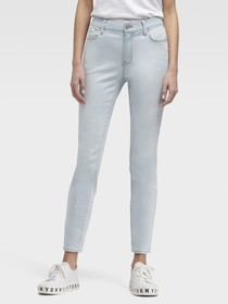 Donna Karan THE MID-RISE SKINNY ANKLE JEAN