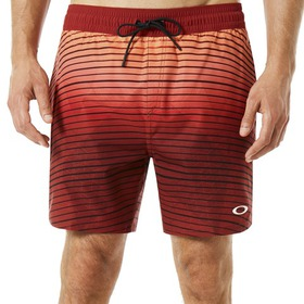 Oakley 16 Inches Camou Boardshort - Iron Red