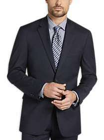 Awearness Kenneth Cole Navy Check Slim Fit Suit