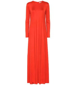 The Row Yolanda silk-blend maxi dress