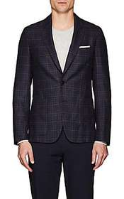 Paul Smith Soho Checked Wool Two-Button Sportcoat