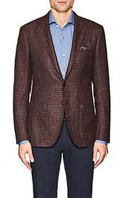 Sartorio PG Houndstooth Wool Two-Button Sportcoat