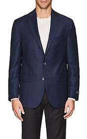 Jack Victor Neat Wool Two-Button Sportcoat