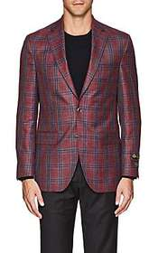 Jack Victor Checked Two-Button Sportcoat