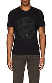 Just Cavalli Embroidered Cotton Jersey T-Shirt