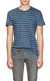 RRL Mixed-Striped Cotton T-Shirt