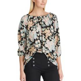 Women's Chaps Floral Georgette Top