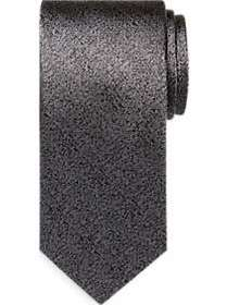 Awearness Kenneth Cole Black Texture Narrow Tie