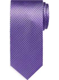 Awearness Kenneth Cole Purple Textured Narrow Tie