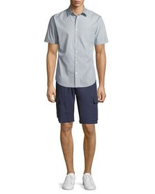 Vince Men's Micro Stars Short-Sleeve Sport Shirt