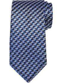 Joseph Abboud Navy Woven Pattern Narrow Tie