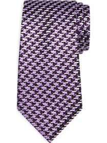 Joseph Abboud Purple Woven Pattern Narrow Tie