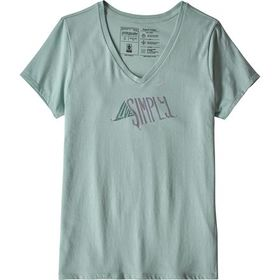 Patagonia Live Simply Sleeping Out Organic V-Neck