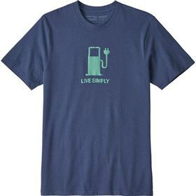Patagonia Live Simply Power Responsibili-T-Shirt -