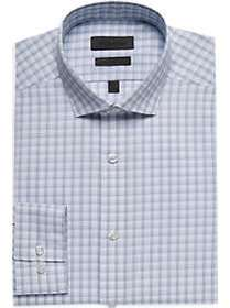 Calvin Klein Light Blue Check Performance Wicking