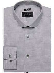 Awearness Kenneth Cole Gray Slim Fit Dress Shirt