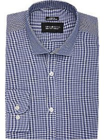 Awearness Kenneth Cole Navy Check Extreme Slim Fit