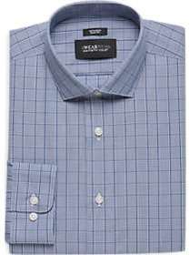 Awearness Kenneth Cole Blue Houndstooth Check Slim