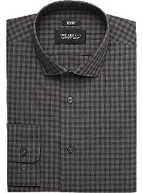 Awearness Kenneth Cole Charcoal Check Slim Fit Dre