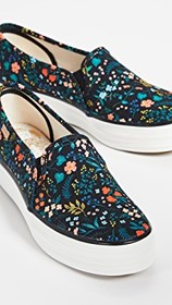 Keds x Rifle Paper Co Wildwood Slip On Sneakers