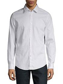 BOSS Lukas Printed Shirt GREY