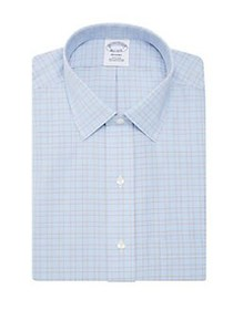 Brooks Brothers Checkered Shirt BLUE