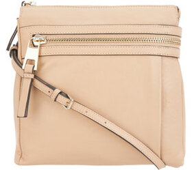 """As Is"" Vince Camuto Leather Crossbody - Darbi - A"