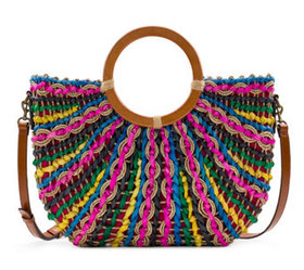 """""""As Is"""" Patricia Nash Straw Tote - Lesa - A372747"""
