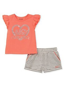 Juicy Couture Little Girl's & Girl's 2-Piece Graph