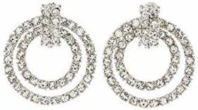Kenneth Jay Lane Doorknocker Earring