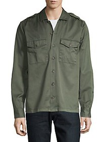 BOSS Woven Shirt DARK GREEN
