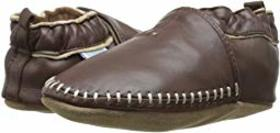 Robeez Premuim Leather Classic Moccasin Soft Sole