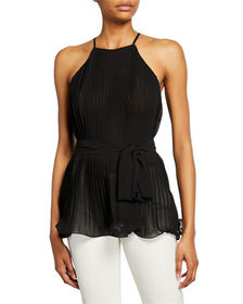 Endless Rose Pleated Halter Top