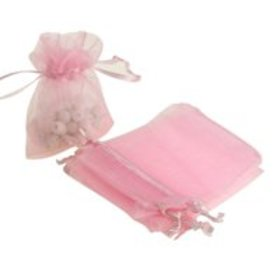 100PCS Wedding Party Organza Gift Bags Jewelry Dra