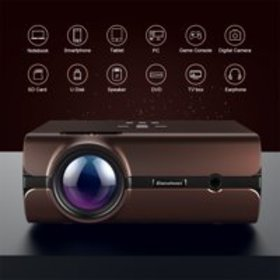 Excelvan BL46 Android 6.0 Multimedia LCD Projector on sale at Walmart