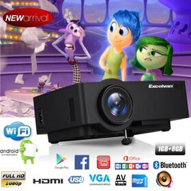 Android 6.0.1 Multimedia Home Theater Projector 12