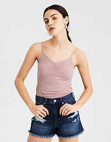 American Eagle AE Soft & Sexy Ribbed Scrunch Front