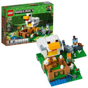 LEGO Minecraft The Chicken Coop 21140 (198 Pieces)