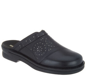 Clarks Collecton Leather Clogs - Patty Renata - A3