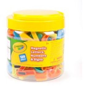 Crayola 128-Piece Letter Magnet Set: Great for Eas